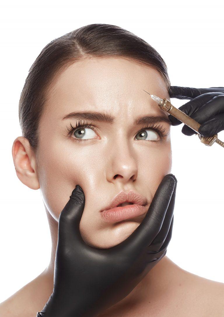 Mesotherapy through botox